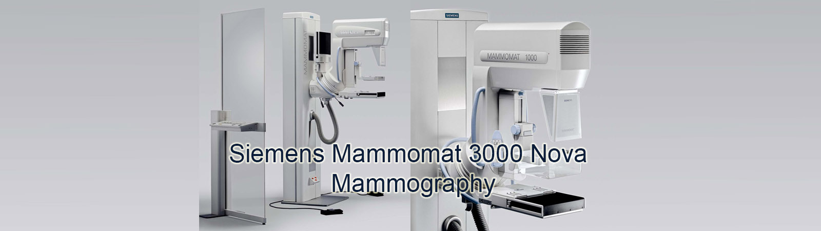 Refurbished Siemens MAMMOMAT 3000 Nova Mammography Machine